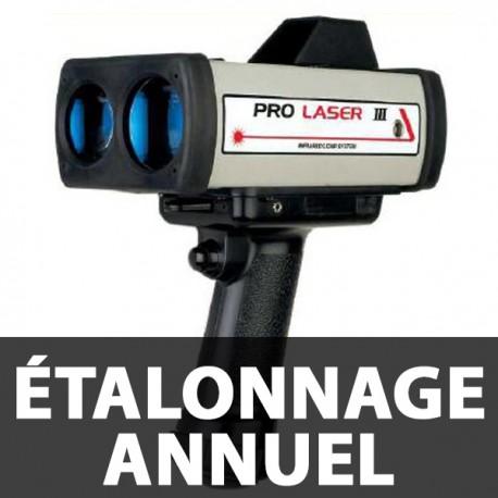 Vérification et Étalonnage annuel Prolaser 3